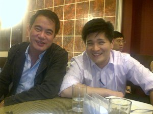 Karl Zafra and Willy Alba in Black Or White